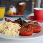 Hotel guest example breakfast