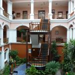 of rooms surrounding a quite common area