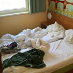 Zimmer kleiner als der Marke üblich (Kopfkissen und Deko: privat)