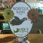 One of the Ship's own beers