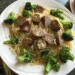 Brocli & sausage
