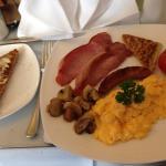 Breakfast, very delicous