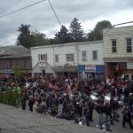 Friday the 13th bike rally in Port Dover