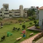The Hotel Lawn with Play Area
