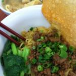 YAMIEN ( BEST SELLER NOODLE WITH STEAMED WONTON soup on the side)