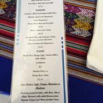 Daily menu at the Lemon Tree