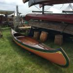 Old canoes