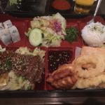 Bento Box for lunch...only...$12.00...Comes with Miso soup too