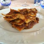 Ravioli genovesi co-o tocco (ravioli genovesi con il sugo di carne alla genovese)