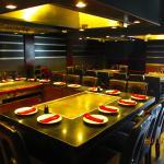 Hibachi grill room