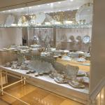 Silberkammer - Il servizio da tavola bianco dorato