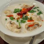 Amazing Tom Kha Gai soup