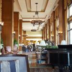 View towards lobby from Piano Bar