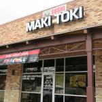 Maki Toki, small strip center location