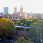 lovely view of Sydney Central Station from my room