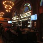 The bar, at the main room.