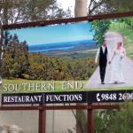 Southern End Restaurant & Function Centre sign at entrance