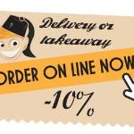 10% Off if you order online