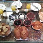 Exemple d'un petit déjeuné
