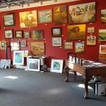 Art Gallery room at Old Mission Tavern