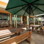 Irish Finnegans out door area where you can relax with friends