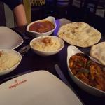 Mains, Rice and Naan