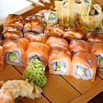 Sushi Dishes - Coral Asia Restaurant - Seychelles