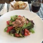 Tuna salad with Italian Focaccia