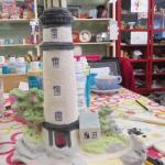 Lighthouse pot before glazing