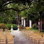 Patio Wedding Set Up