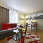 Living room of 1-bedroom apartment, Citadines  Trafalgar Square London