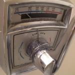 Vintage shower control