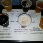 One beer flight...generous pours allows for mutiple drinks to apprecaite the flavors!