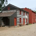Cute buildings at the Vincennes State Historic Site