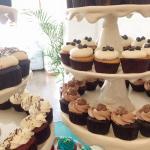 Cupcakes de Ferrero Rocher y Nutella