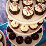 Cupcakes de San Valentín