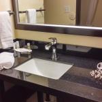 Updated vanity area