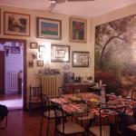 La sala dove si mangiava tutti assieme