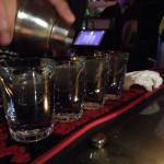 Free shots at Happy hour