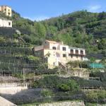 Citronstien, der går mellem byerne Maiori og Miniori