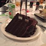 GIANT chocolate cake--share with the table