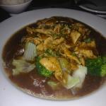 garlic chicken with broccoli