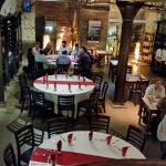 Vista interna do restaurante (subsolo)