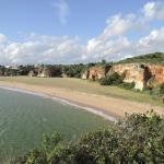 strand und hotelgelände