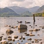 5 mins walk from hotel, Derwentwater shore