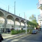 Im Viadukt Foto