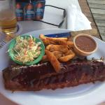 Maybee the best ribs at the beach...