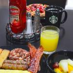Fresh breakfast with cook to order omelet