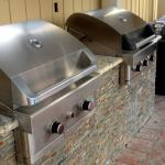 Stainless steel BBQ Grills for guests
