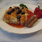 One of the B&B's signature dishes